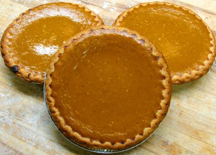 Our Pumpkin Pie recipe has