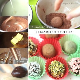3-Ingredient Truffle Chocolate Recipe - Brigadeiro