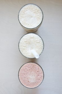 Almond Milk Bubble Tea Three Ways // Dula Notes