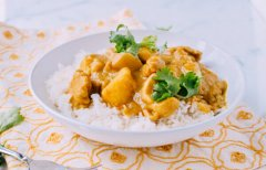 Coconut Curry Chicken, by thewoksoflife.com