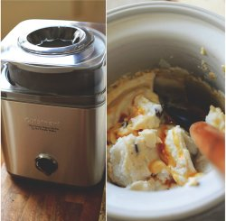 Cuisinart Ice Cream Maker | ice cream batter