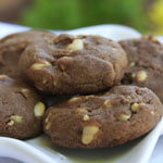 Eggless Crispy Chocolate Chip Cookies using Condensed Milk