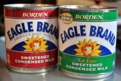 Fat Free and Regular Sweetened Condensed Milk