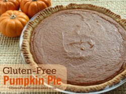 Gluten-Free, Dairy-Free Pumpkin Pie at The Gluten-Free Homemaker