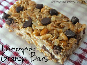Homemade Granola Bars recipe from {The Best Blog Recipe}