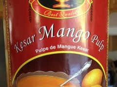 Kesar Mango Pulp for Mango Pudding