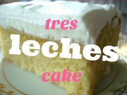 Making Tres Leches Cake, on Craftsy.com