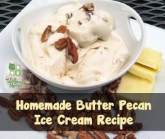 Nourishing Butter Pecan Ice Cream Recipe