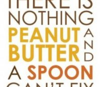 peanut butter solves everything