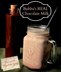 Recipe: Real Chocolate Milk (Homemade Chocolate Syrup)