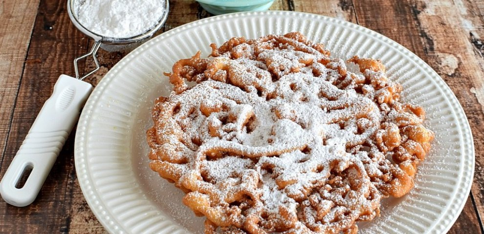 Funnel cake recipe without milk