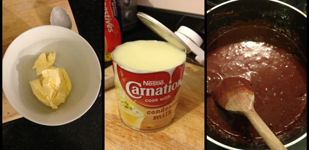 Recipes using condensed milk and chocolate