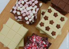 Super simple 2 ingredient fudge recipe from Eats Amazing UK - so quick and easy to make