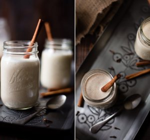 Almond milk Eggnog recipe