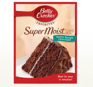 Betty Crocker milk Chocolate cake mix Recipes