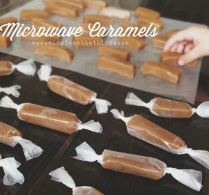 Caramel candy recipe with sweetened condensed milk