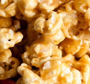 Caramel Popcorn recipe sweetened condensed milk