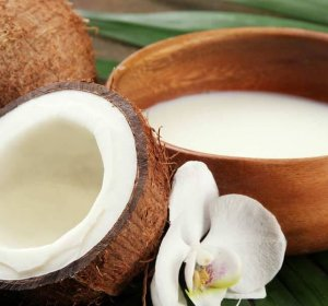 Coconut milk hair recipe