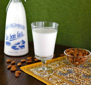 Cooking with almond milk recipe
