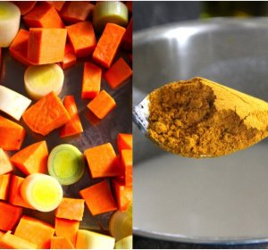 Curry powder coconut milk recipe