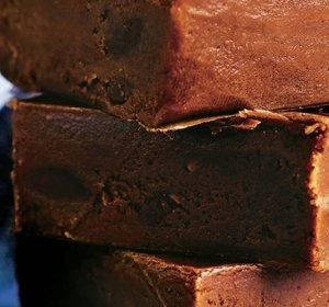 Easy chocolate Fudge recipe with evaporated milk