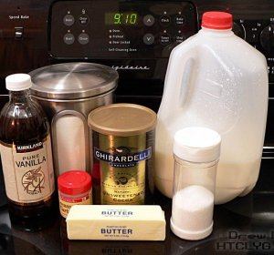 Fudge recipe condensed milk cocoa powder