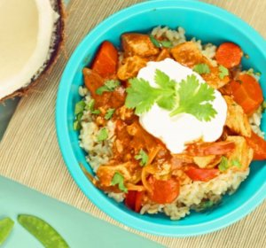 Healthy Chicken curry recipe coconut milk