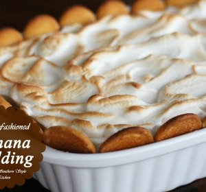 Homemade Banana Pudding recipe with condensed milk