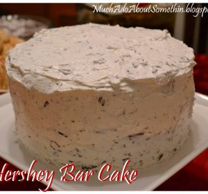 Milk Chocolate Bar cake recipe