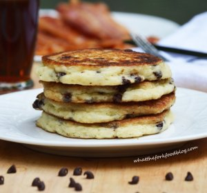 Pancakes recipe with almond milk