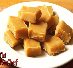 Peanut Butter Fudge recipe with condensed milk