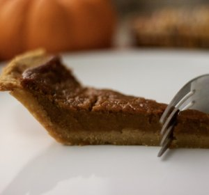 Pumpkin pie recipe (Coconut Milk)