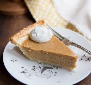 Pumpkin pie recipe with milk