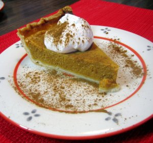 Pumpkin pie recipe with regular milk
