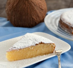 Recipe coconut cake with condensed milk