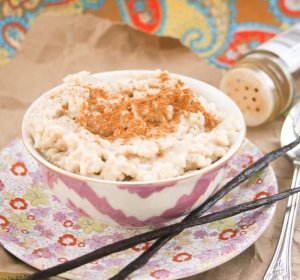 Rice Pudding made with coconut milk Recipes
