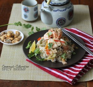 Shrimp in coconut milk recipe