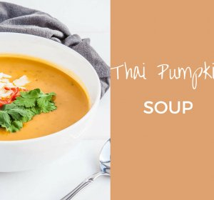 Spicy Pumpkin Soup recipe coconut milk